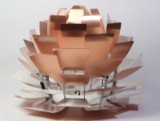 Poul Henningsen. Pendant lamp, PH Artichoke, copper, Ø 72 cm, fully renovated - no suspension