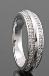 18kt. diamond ring approx. 0.23ct