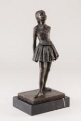 Balletpige i bronze