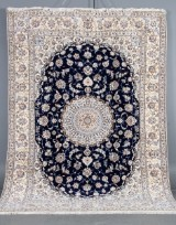 Persisk Nain m/ Silke, 350 x 250 cm