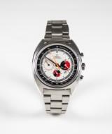 Herrarmbandsur Omega Seamaster chronograf 'soccer timer', 1960-tal
