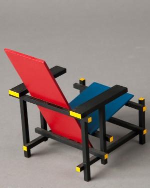 ware 3148664 gerrit rietveld vitra miniatur rot blauer stuhl red blue chair zig zag chair. Black Bedroom Furniture Sets. Home Design Ideas