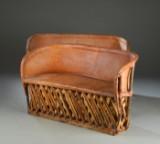 Et par sofaer af skind (2)