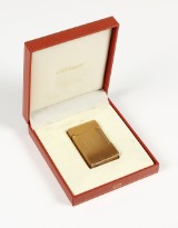 S.T. Dupont lighter, gulddoublé