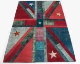 Tæppe, design 'Revive Vintage Patch', ca. 298 x 202 cm