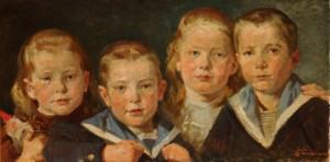 Dette er en tema auktion med malerier fra boet efter maleren erik