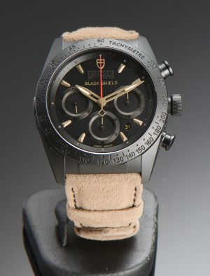 Nye og brugte herreure - Rolex, Cartier, Omega, Breitling - Tudor Fastrider Black Shield ...
