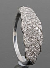 Diamond ring approx. 0.50ct.
