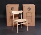 Hans J. Wegner. Four dining chairs, model CH23 Limited Edition (4)
