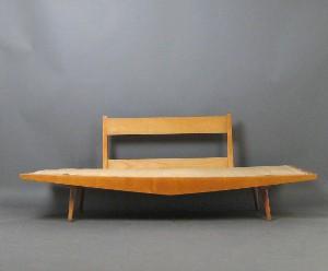 daybed sofa der 1950 60er jahre. Black Bedroom Furniture Sets. Home Design Ideas