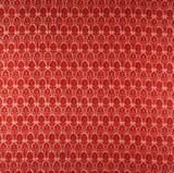 Tyg, Medaljong, Bomull, röd, 6 m