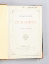 Ibsen originalupplaga av Vildanden 1884