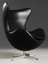 Arne Jacobsen, loungestol model Egg Chair 3316, fremstillet hos Fritz Hansen