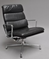 Charles Eames. Soft Pad lounge chair, model EA-222