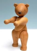 Kay Bojesen. Stor bamse/ bjørn af egetræ