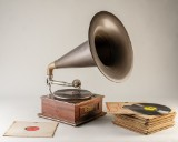Tragtgrammofon 'Elmsdale' (30)