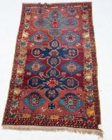 Teppich, türkisch kurdisch, 1940er Jahre, 235 x 128 cm