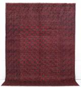 Matta, Handknuten Afghan, 335 x 253