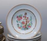 Rörstrand. 'Lotus' og 'Fabiola', dele til spisestel, fajance og porcelæn(31)