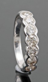 Diamond ring in 18kt approx. 1.26ct, By Kapriss