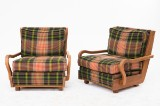 Paolo Buffa, pair of chairs (2)