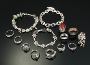 store sølvsmykker