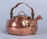 Kaffepanna, koppar, 17/1800-tal