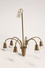 Poul Henningsen. Stem for the Bombardment chandelier with six arms, 1940's