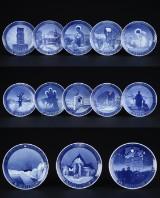 Kgl. Porcelæn. Juleplatter 1937-1949, 1. sort (13)