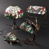 Natlamper / bordlamper i Tiffany stil (4)