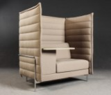Erwan & Ronan Bouroullec for Vitra. 'Alcove Highback Work', a free-standing sofa with high back rest