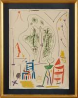 Pablo Picasso färglitografi