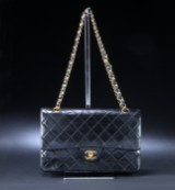Chanel. Skulder- /Cross-body taske. 2.55 Double Flap