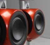 Bang & Olufsen. Fire stk. BeoLab 3 højtalere, type 6891 (4)