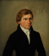 Wilhelm Bendz. attributed. Portrait of a young man