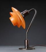 Poul Henningsen. Bordlampe, Vintergækken