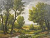 Oliemaleri, Istvan Kende, 'Landschaft'