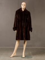 Mink coat, Saga Mink Royal, Supreme Quality, size 38/40