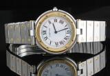 Cartier Santos de Cartier 18kt two tone gold wristwatch
