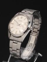 Rolex Oysterdate Precision. Vintage men's watch, steel with date, c. 1972