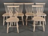Carl Malmsten, Stolab. Six chairs, 'Lilla Åland' (6)