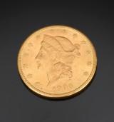 USA 20 dollar guldmønt 1906