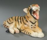 Søholm. Tiger af fajance nr. 660