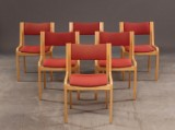 Magnus Olesen, seks konference stole af bøgetræ (6)