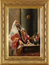 Målning 1900-tal Judaica