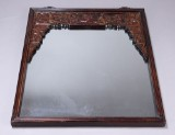 Kinesisk spejl med udskæringer