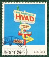 Frimærker Danmark - Stemplet og postfrisk