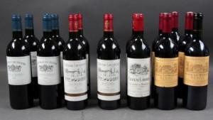 Franske vine (16) - Dk, Helsingør, Støberivej - Franske vine. Parti bestående af: 5 fl. Ch. Les Mourlanes (4x1996, 1x1997) 5 fl. Ch. Du Noyer 1999 1 fl. Ch. Laborde 1995 5 fl. Ch. Lavignére 1999 (16) - Dk, Helsingør, Støberivej