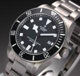 Tudor 'Pelagos'. Men's watch, titanium, with black dial with date, c. 2013