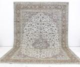Carpet, large pale Keshan, Persia, 525 x 342